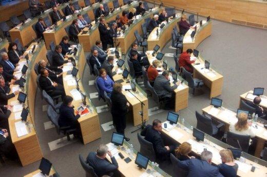 Seime – cirkas dėl vyskupų įtraukimo į žiniasklaidos kontrolę