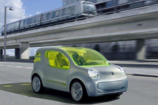 Renault Kangoo koncepcinis modelis