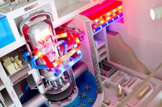 Kaip veikia būsimasis Visagino AE branduolinis reaktorius
