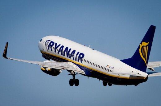 """Londone buvo kilęs nerimas dėl """"Ryanair"""" lėktuvo iš Kauno"""