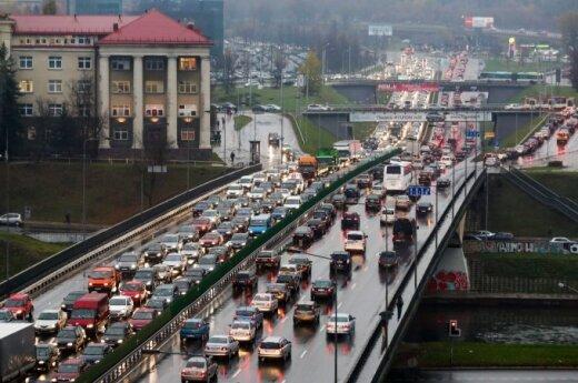 Vilnius among top ten most motorised cities