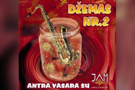 """""""Džemo Nr.2"""" viršelis"""