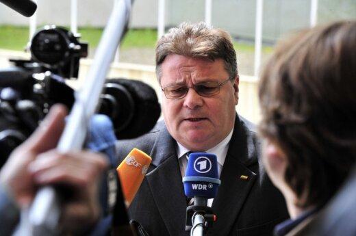 Глава МИД Литвы: надо называть вещи своими именами и реагировать