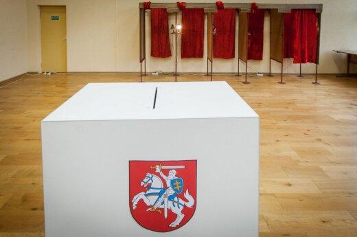 Sekmadienį Lietuvoje vyksta rinkimai: renka merus ir Seimo narį