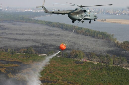 Could fires strike the Curonian Spit once again?
