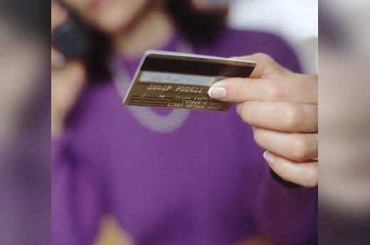 Banko kortelė, kreditinė kortelė, bankas, pinigai