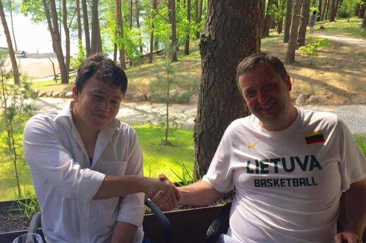 Basir and Antanas Guoga