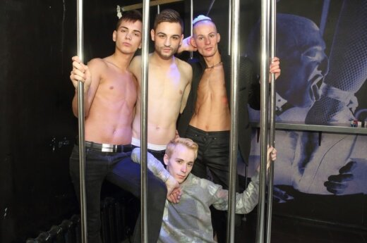 """Mr. Gay Baltics 2015"" dalyviai"