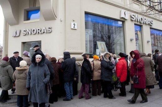 Вкладчикам Snoras уже выплатили 3,2 млрд. литов