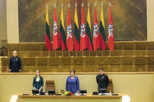 Lithuania's 25 independence anniversary: president calls for unity in face of new threats