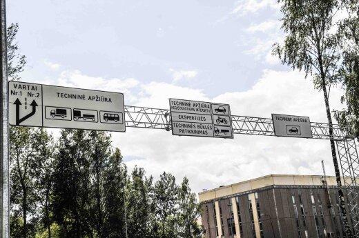 Techninės apžiūros stotis (asociatyvi nuotr.)