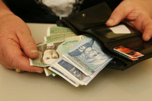 Ponad połowa mieszkańców Litwy chce zarabiać ponad 3 tysiące