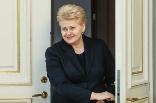 President Grybauskaitė: We see concrete examples of how young people are turned against their country