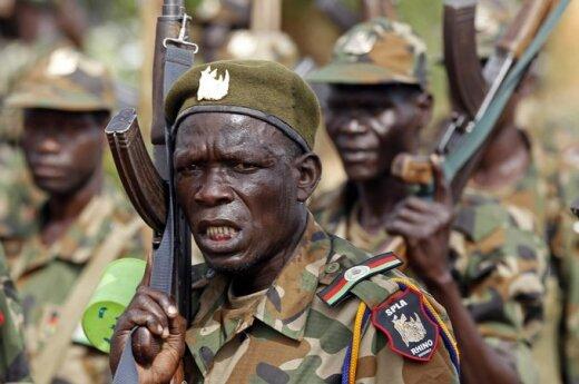 Pietų Sudano kariai