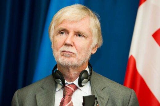 Suomijos užsienio reikalų ministras Erkki Tuomioja