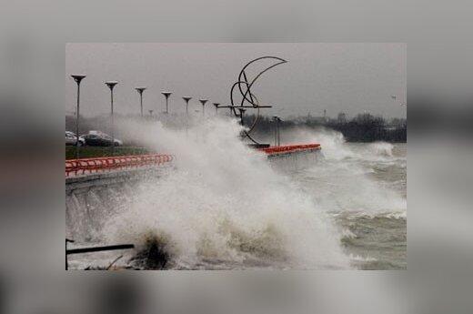 Uraganas Ervinas Taline