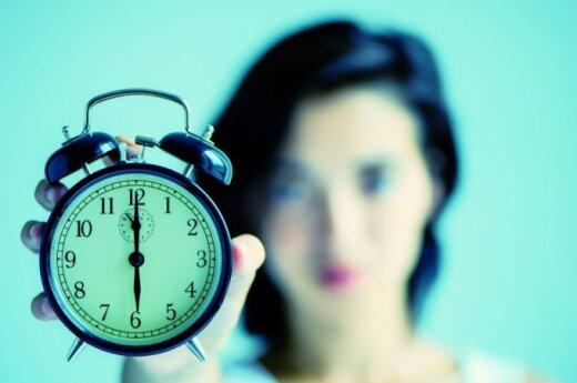 Kaip sutaupyti pusantros valandos per dieną?