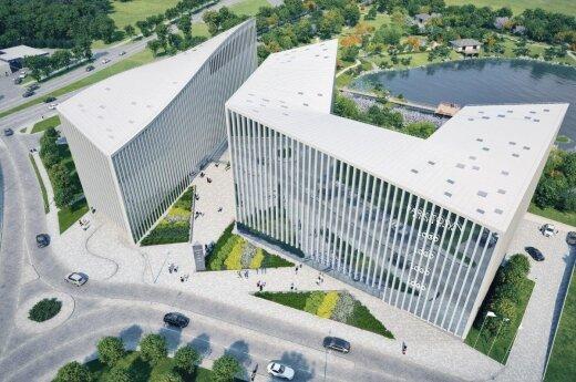 Vilniaus centre iškils naujas biurų kompleksas