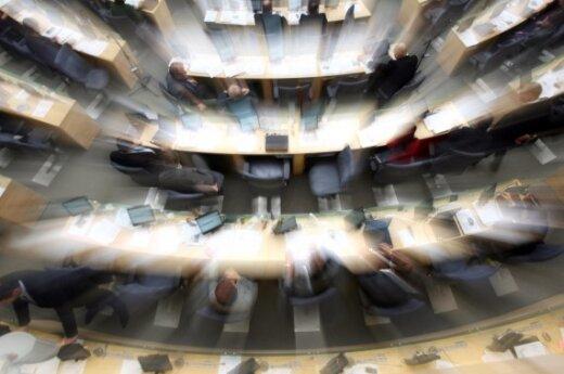 Дегутене: чтобы сократить число депутатов, надо менять Конституцию