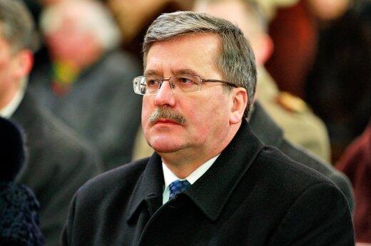 Prezydent Komorowski na Łotwie