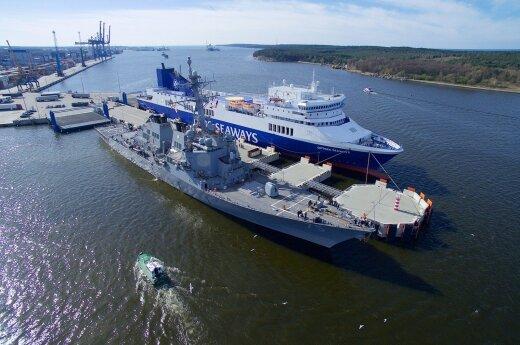 USS Donald Cook Klaipėdoje
