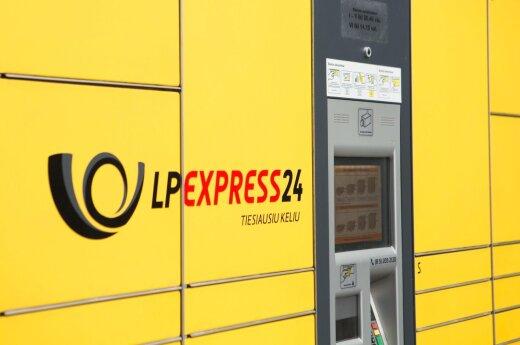 Lithuania Post Express 24 terminal