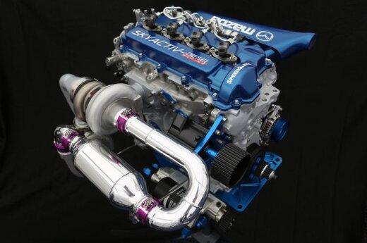 Mazda SKYACTIV-D variklis