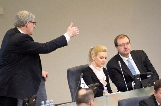 Mečislovas Zasčiurinskas, Vitalija Vonžutaitė, Viktoras Uspaskichas