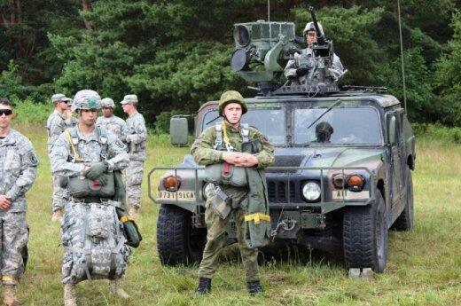 Lithuanian - USA military drill in Klaipėda region