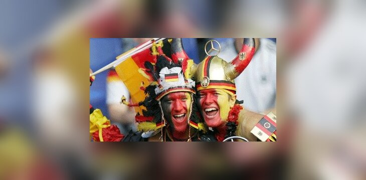 Vokietijos rinktinės fanai