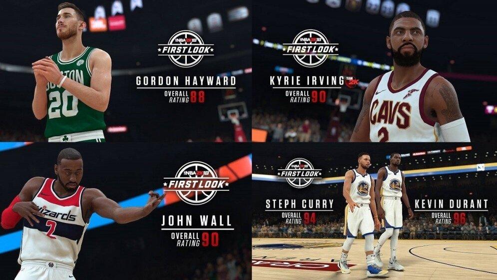 NBA žvaigždžių reitingai vaizdo žaidime