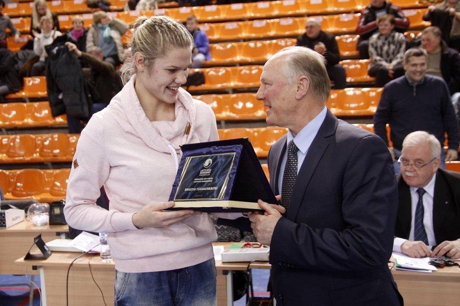 Apdovanoti geriausi praeitų metų Lietuvos rankininkai