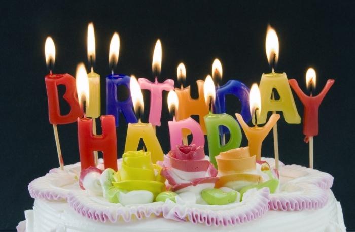 Фото торта со свечами