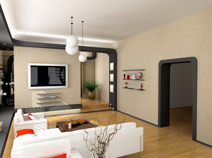 Потолки из гипсокартона на кухне Идеи дизайна
