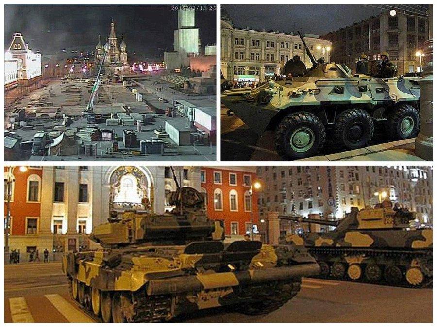 """""""Путин собрался в Ростов?"""", - к Кремлю подъехала колонна белых грузовиков, вызвав бурное обсуждение в соцсети - Цензор.НЕТ 7513"""