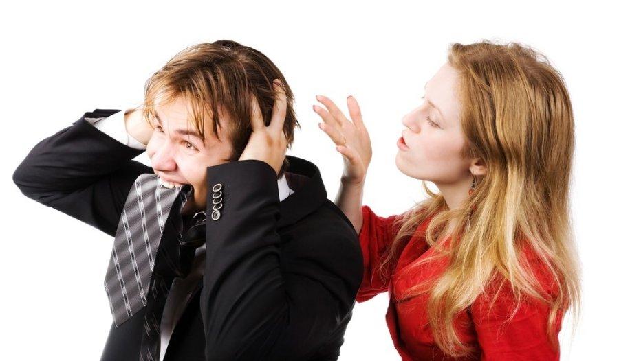 Конфликт между мужчиной и женщиной; фото 485921, фотограф chaoss. Фотобанк Лори - Продажа фотографий, иллюстраций и изображений,