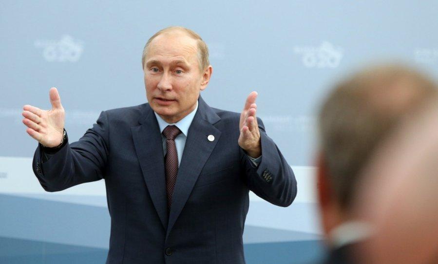 Путин попал под уголовщину