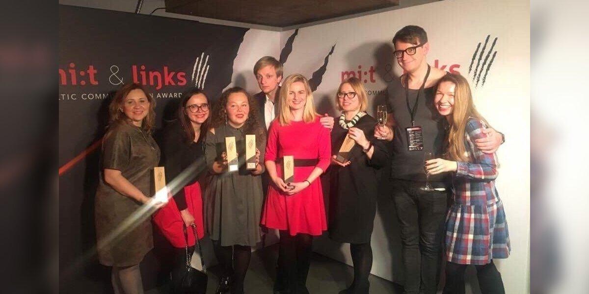 Iš Rygos į Lietuvą parkeliauja apdovanojimai už geriausius komunikacijos projektus