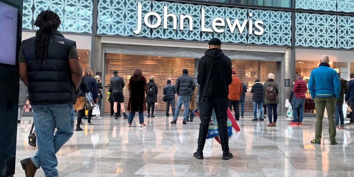 """""""John Lewis"""" parduotuvė"""