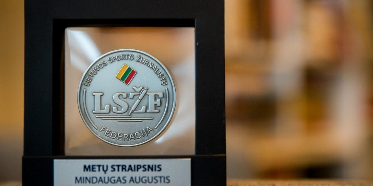DELFI sporto žurnalistas Mindaugas Augustis apdovanotas už geriausią straipsnį