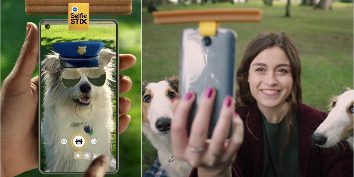 """""""Pedigree"""" naujovės – greita asmenukė su augintiniu ir """"Snapchat"""" šunims"""