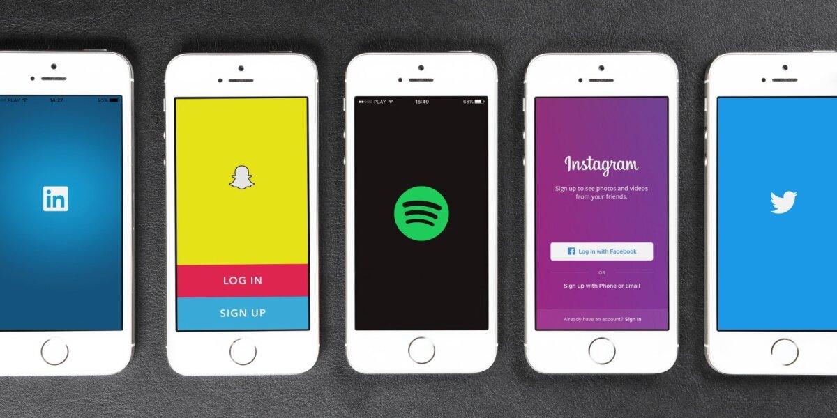 """Verslo komunikacija """"Spotify"""" ir """"Snapchat"""": ar sėkmė įmanoma Lietuvoje?"""