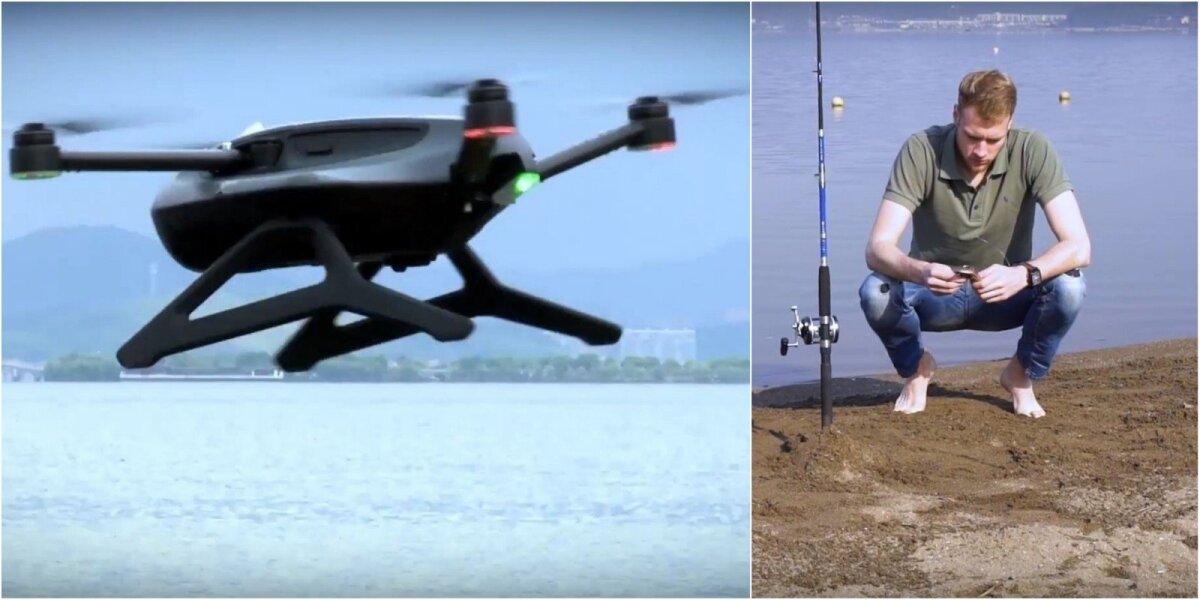 Pirmasis žvejams skirtas dronas