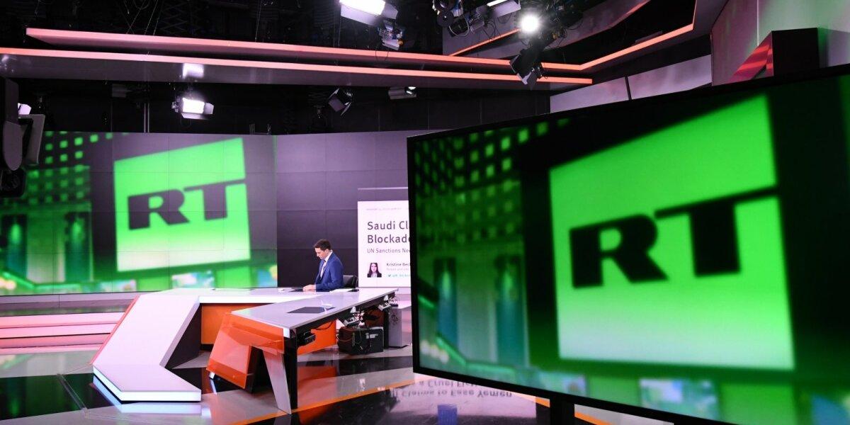 Latvija uždraudė Rusijos propagandinę televiziją RT