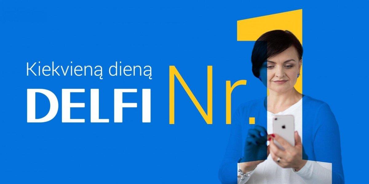 Portalas DELFI – skaitomiausias kiekvieną dieną visose platformose
