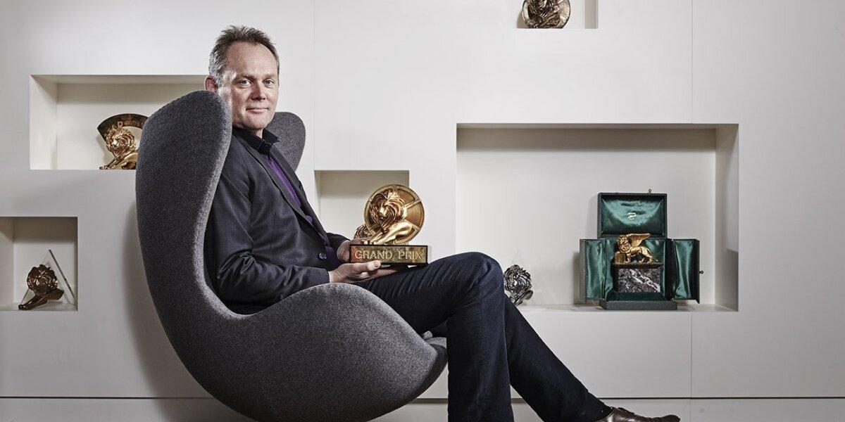 """""""Kanų liūtų"""" direktorius P. Thomas: Norime įkvėpti kūrybingumą pasauliniu mastu"""