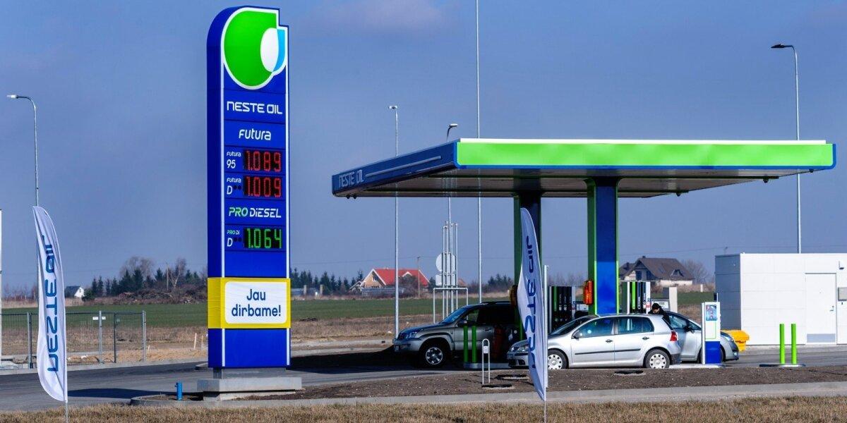 """Biodegalų asociacija vėl skundžia """"Neste Lietuva"""" dėl klaidinančios reklamos"""