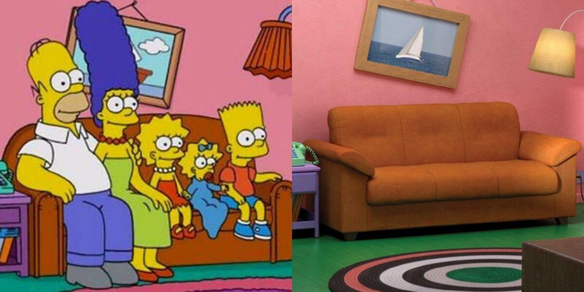 """""""Ikea"""" reklamoje – """"Simpsonų"""", serialų """"Draugai"""" ir """"Keisti dalykai"""" svetainės"""