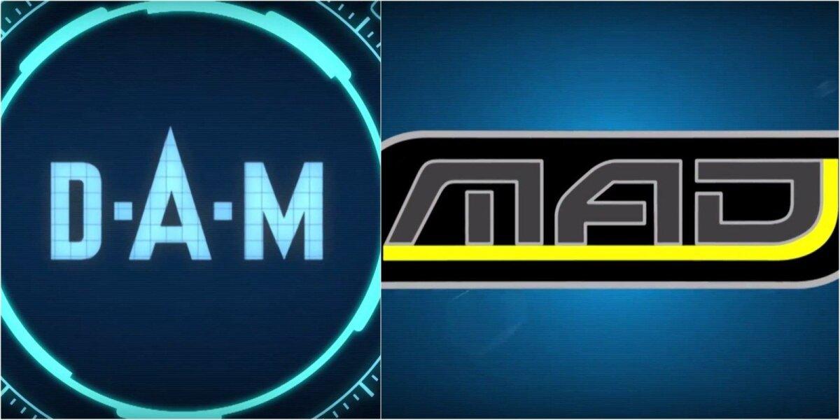 D.A.M. logotipas