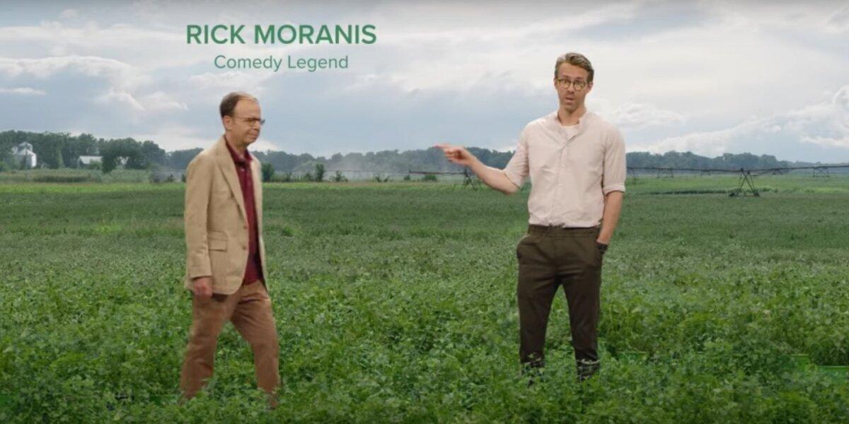 Mint Mobile reklama